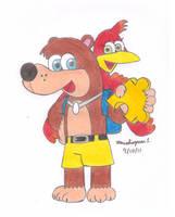 Banjo and Kazooie by MarioSimpson1