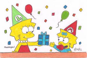 Maggie's Birthday Present by MarioSimpson1
