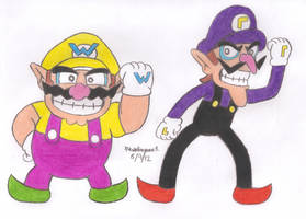Wario and Waluigi by MarioSimpson1