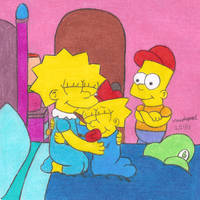 Reunited with Lisa by MarioSimpson1