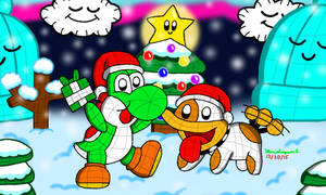 Yoshi's Woolly Christmas by MarioSimpson1