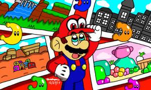 Super Mario Odyssey by MarioSimpson1