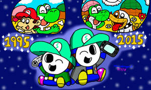 20 Years of Nintendo Gaming by MarioSimpson1