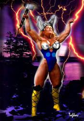 Thunder Goddess by Tafkac39