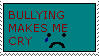 Anti Bullying stamp by sound-ninja-2008