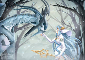 Fanart - Corrin and Azura by Dakiarts