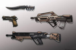 Weapons by Studio4productions