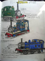 Milligan-central engine roster by FiremanHippie