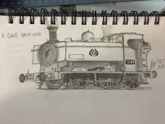 GWR 6414 Tank engine by FiremanHippie