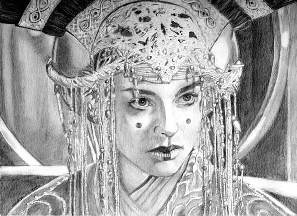 Ep 1 Amidala Fan Headdress by khinson