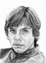 ESB Sketch Cards - Luke by khinson