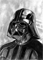 ESB Sketch Cards - Darth Vader by khinson