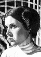 2-2012 Portraits of Leia: Royal Robe by khinson