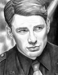 Captain Steve Rogers 12-28-2013 by khinson
