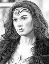 Gal Gadot as Wonder Woman 8-19-2017 by khinson