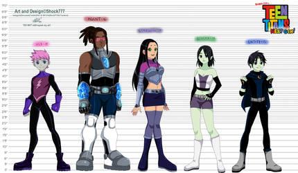 Teen Titans Next Gen by shock777