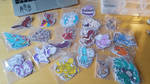 Bunch of stickers by Biffig