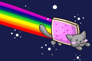 Nyan Cat by Tackarara