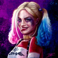 Harley Quinn by Dicazy