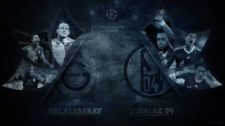 Galatasaray - Schalke  | Champions League 2012-13 by 07mustafa38