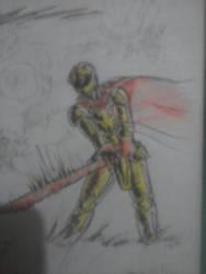 gilded guy fan art on ink by danielnew1