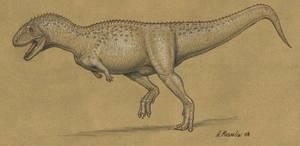 Aucasaurus garridoi by BrokenMachine86