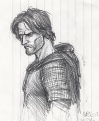 Turin Turambar quick sketch by BrokenMachine86