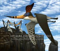 Pteranodon sternbergi (Geosternbergia) by BrokenMachine86