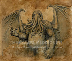 Cthulhu by BrokenMachine86