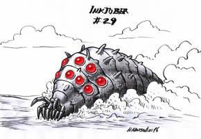 Ohmu - Inktober 29 by BrokenMachine86