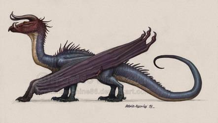 Dragon by BrokenMachine86