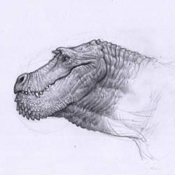Dragon sketch by BrokenMachine86