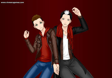 Ryan and Jason Todd by sky-the-ripper