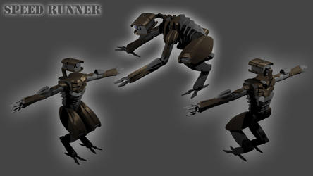 Speed runner, poses by Puer-Dracul