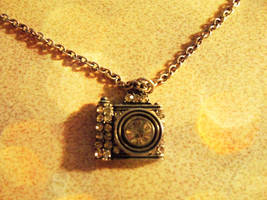 Camera Necklace by EonComet