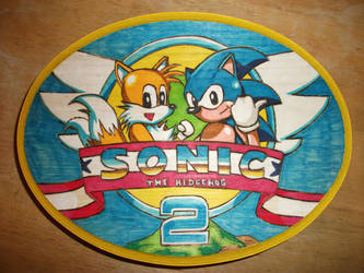 Sonic the Hedgehog 2 title by Tedbob