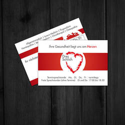 Appointment-Card Dr Schlich by knobibrot