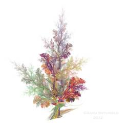 fractal tree 25- All Seasons Tree by Alvenka