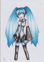Miku Hatsune by Lexou-chan