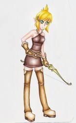 Wakfu Evangeline ::detail:: by Lexou-chan