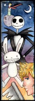 Bookmark by Lexou-chan