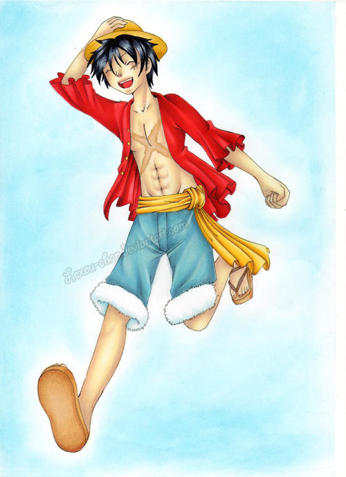 Luffy :COMM: by Lexou-chan