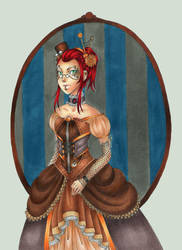 Steampunk Duchess by Lexou-chan
