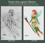 Draw this again Meme : Little fairy by Lexou-chan