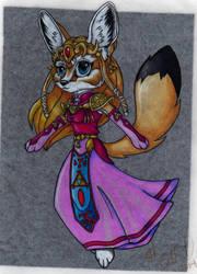 Chibi princess Zelda by forensicfox