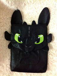Toothless IPad  cover by forensicfox