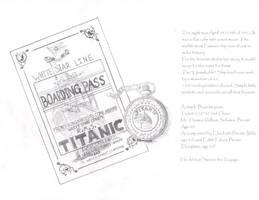 Titanic Watch and Pass by NiegelvonWolf