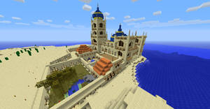 Middle Eastern Palace (Minecraft) by NiegelvonWolf