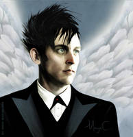 Oswald Cobblepot The angel of death by MayaCobblepot