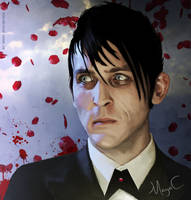 Blood and rose petals by MayaCobblepot